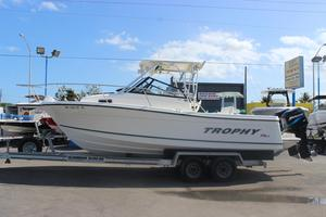 Used Trophy 2509 Walkaround2509 Walkaround Fishing Boat For Sale