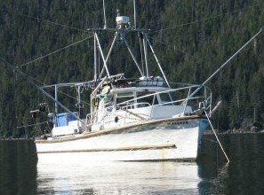 Used Uniflite 33 Commercial Power Troller Boat For Sale
