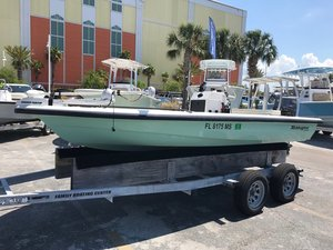 Used Ranger 169 Ghost169 Ghost Flats Fishing Boat For Sale