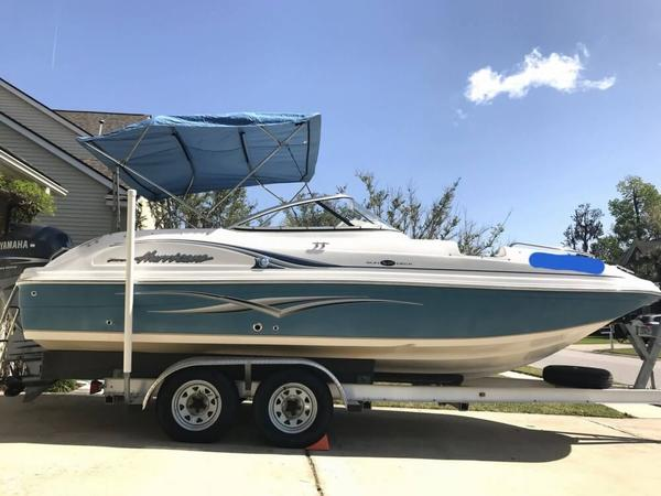 Used Hurricane SD 217 Deck Boat For Sale