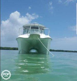 Used Hydrocat 300X Power Catamaran Boat For Sale