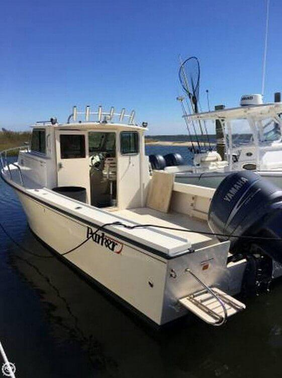 Used Parker Marine 2520 SL Pilothouse Boat For Sale