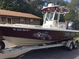 Used Everglades 243 CC243 CC Saltwater Fishing Boat For Sale