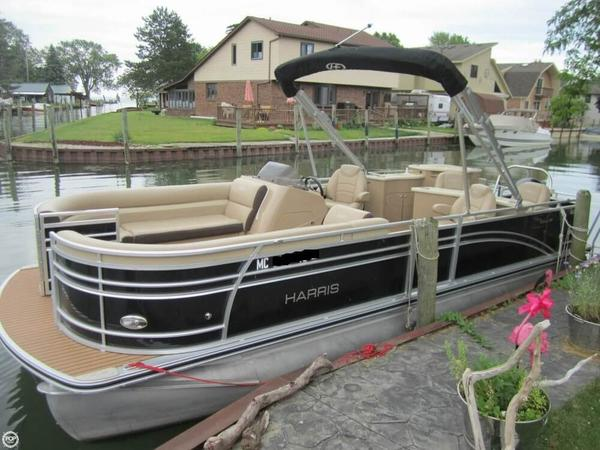 Used Harris 240 Sunliner Pontoon Boat For Sale