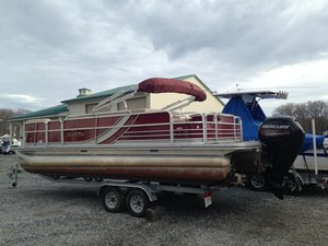 Used South Bay S22 FCR Pontoon Boat For Sale