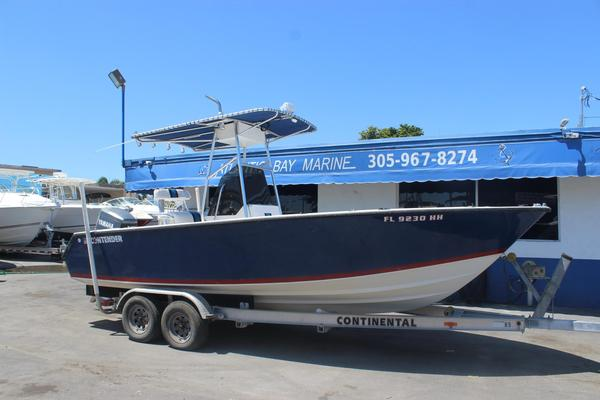 Used Contender 21 Open21 Open Saltwater Fishing Boat For Sale