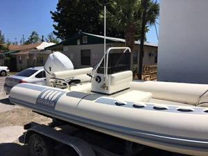Used Novurania 550dl Tender Boat For Sale