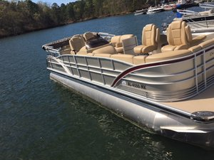 Used Sanpan SP2500FEB4SP2500FEB4 Pontoon Boat For Sale