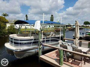 Used Harris 220 Solstice Coastal Edition Pontoon Boat For Sale