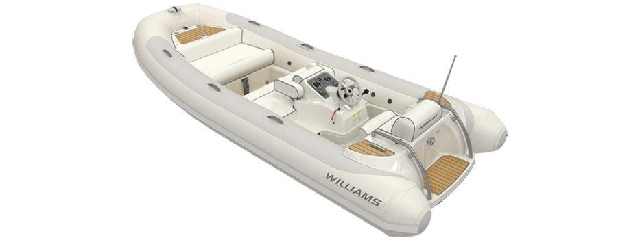 2013 Used Williams Jet Tenders Turbojet 445 Tender Boat For