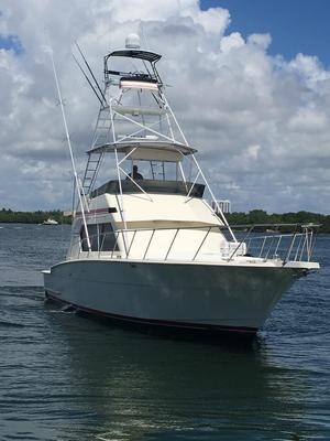 Used Hatteras Sport Fish Convertible Fishing Boat For Sale