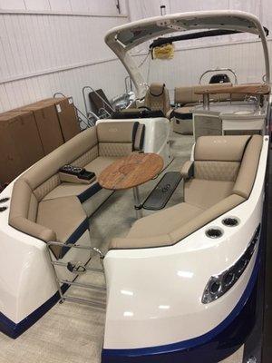 New Harris Flotebote 250crowne/sleb Pontoon Boat For Sale