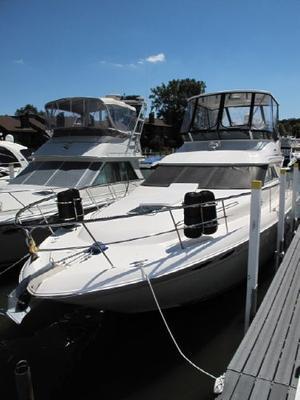 Used Sea Ray 400 Sedan Bridge **fresh Water** Flybridge Boat For Sale