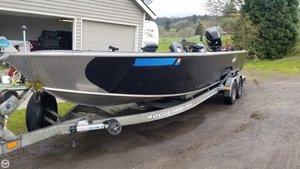 Used Alumaweld Super Vee Aluminum Fishing Boat For Sale
