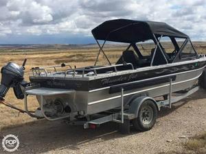 Used Thunder Jet Luxor 18 SJ Aluminum Fishing Boat For Sale