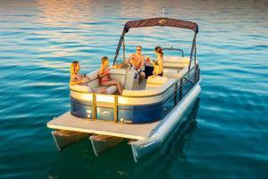 New Crest II 230 SLSII 230 SLS Pontoon Boat For Sale