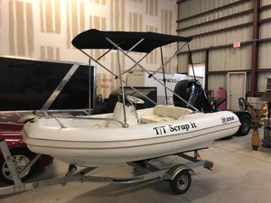 Used Mercury 350 Amanzi Tender Boat For Sale