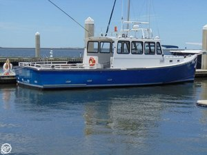 Used H & H Marine Osmond Beal 40 Downeast Fishing Boat For Sale