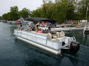 Used Misty Harbor Adventure 2285 CCAdventure 2285 CC Pontoon Boat For Sale