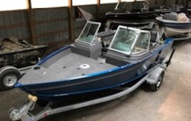 New Lund 1625 Fury XL Sport Sports Fishing Boat For Sale
