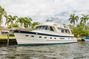 Used Grand Alaskan Flush Deck Motor Yacht For Sale
