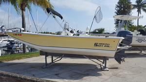 Used Carolina Skiff 218 DLV Commercial Boat For Sale