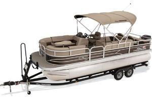 New Sun Tracker Sport Fish 22 XP3 WovSport Fish 22 XP3 Wov Pontoon Boat For Sale