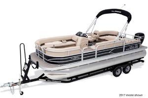 New Sun Tracker PB22 BLK WOVPB22 BLK WOV Pontoon Boat For Sale