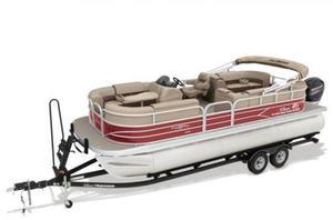 New Sun Tracker PB 22 XP3 WOVEN FLOORINGPB 22 XP3 WOVEN FLOORING Pontoon Boat For Sale
