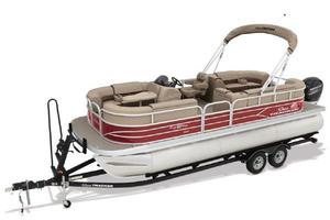 New Sun Tracker PB22X3 BLK WOVPB22X3 BLK WOV Pontoon Boat For Sale