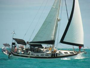 Used Liberty 458 Center Cockpit Sailboat For Sale