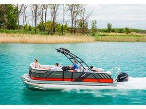 New Crest Caliber 230 SLC Pontoon Boat For Sale