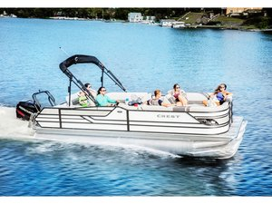 New Crest Classic 230 SLC Pontoon Boat For Sale
