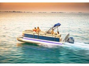 New Crest II 230 SLS Pontoon Boat For Sale