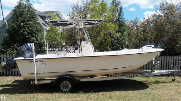 Used Tidewater 2196 SKIFF Fishing Boat For Sale
