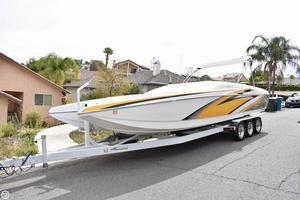 Used Magic 28 Scepter Power Catamaran Boat For Sale