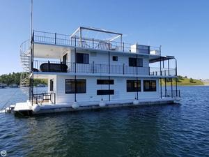 Used Custom 20 x 54 Lake McClure 2-story Houseboat House Boat For Sale