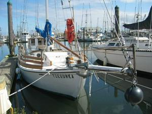 Used Buehler Grizzly Bear Double Ender Cruiser Sailboat For Sale