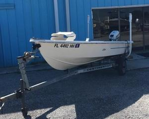 Used Skiff Craft 16 Commercial Boat For Sale