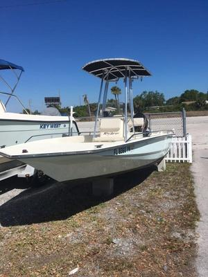Used Key Largo 186 Bay Center Console Fishing Boat For Sale