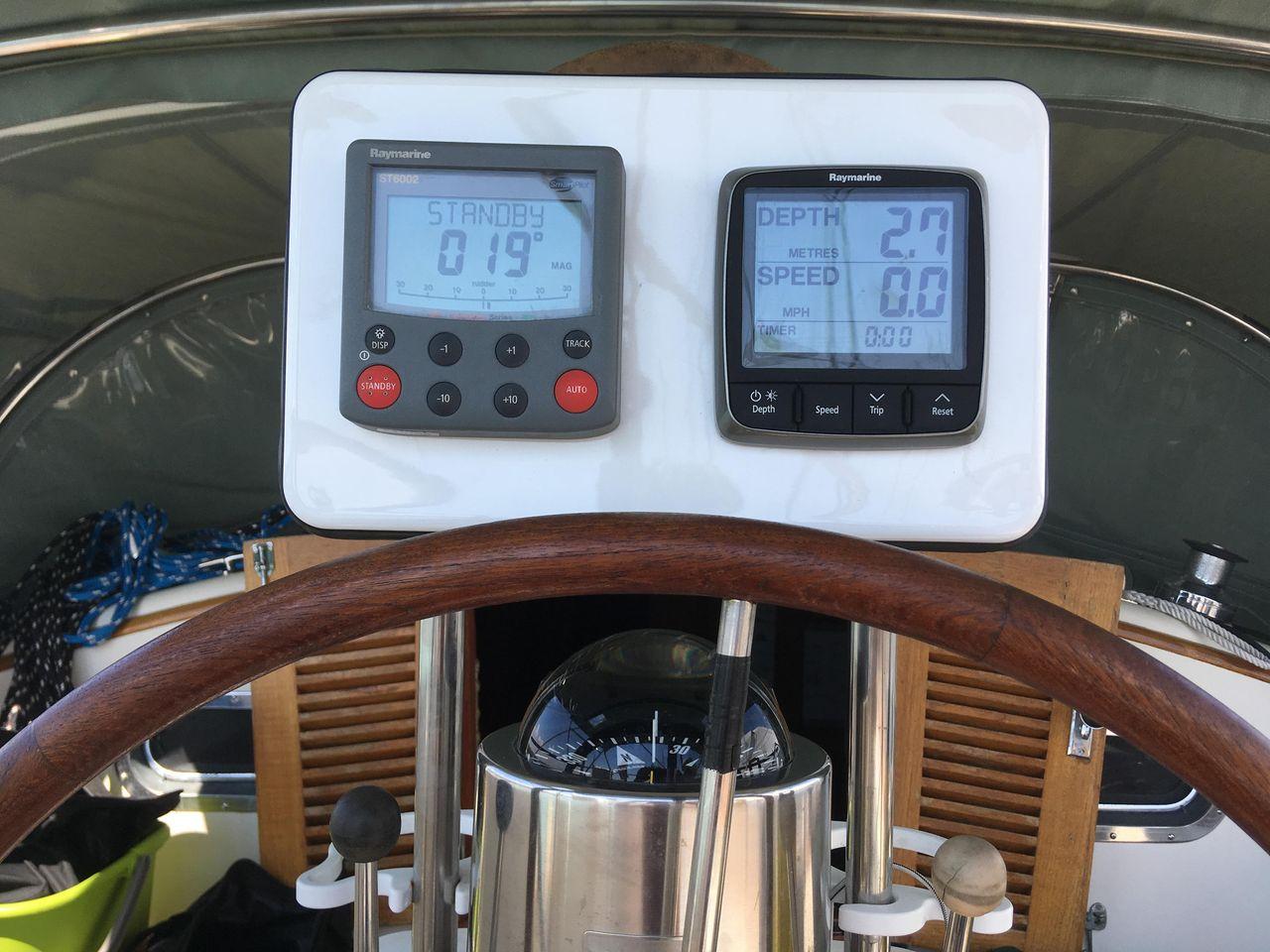 1986 Used Tashiba 36 Cruiser Sailboat For Sale - $149,900