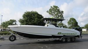Used Statement 38 SUV Open High Performance Boat For Sale
