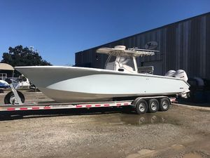Used Palmetto Custom Adventure 33 / 08 Yamaha 350's Center Console Fishing Boat For Sale