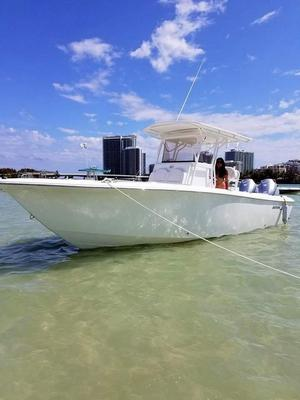 Used Bimini 269cc Center Console Fishing Boat For Sale