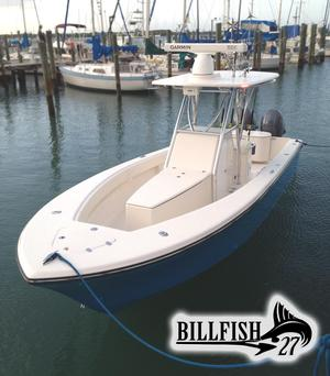 New Billfish 27 Center Console Center Console Fishing Boat For Sale
