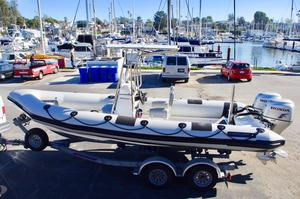 Used Ribcraft 6.8 Center Console Fishing Boat For Sale