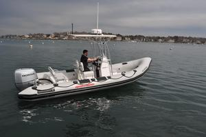 Used Ribcraft 6.5 Center Console Fishing Boat For Sale