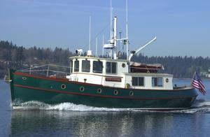 Used Devlin Sockeye 42' Trawler Boat For Sale