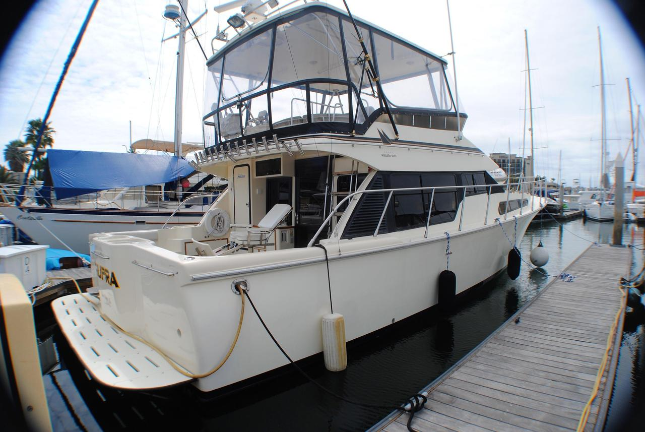 1999 used mikelson 50 sportfisher sports fishing boat for for Fishing boats for sale san diego