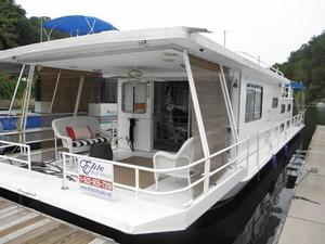 Used Jamestowner 14 X 56 Houseboat House Boat For Sale